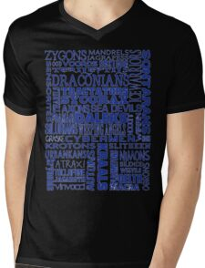 Intergalactic Alien Bingo! Mens V-Neck T-Shirt