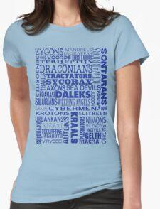 Intergalactic Alien Bingo! Womens Fitted T-Shirt