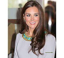 Kate Middleton Photographic Print