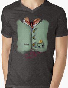 Pocket 02 Mens V-Neck T-Shirt