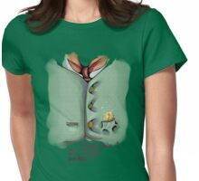 Pocket 02 Womens Fitted T-Shirt