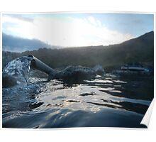 Iceland: Hot Pot in Hveravellir Poster