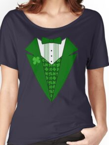 St. Patrick's Day Tux Women's Relaxed Fit T-Shirt