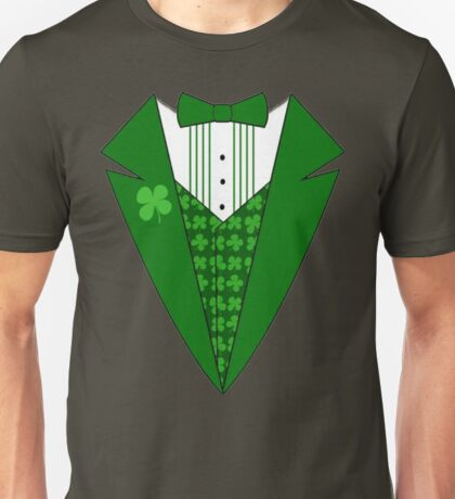 St. Patrick's Day Tux Unisex T-Shirt
