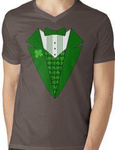 St. Patrick's Day Tux Mens V-Neck T-Shirt