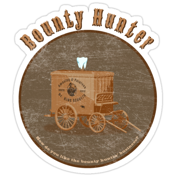 Bounty Hunter - Django Unchained by shufti