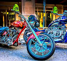 Chopper Motorcycles by Chris L Smith