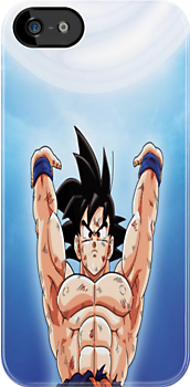 Dragon Ball Z Goku Iphone Case by MrFlashLawl