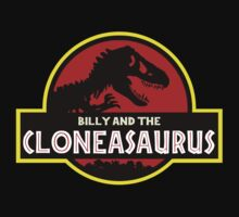 Billy And The Cloneasaurus by garlic-creative