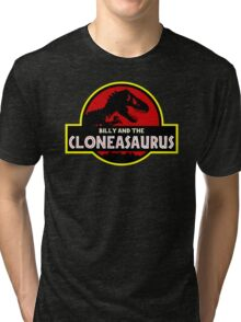 Billy And The Cloneasaurus Tri-blend T-Shirt