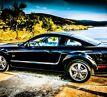 Black Ford Mustang GT by chris-csfotobiz