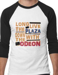 Long Live The Plaza! Men's Baseball ¾ T-Shirt