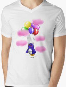 Believe! Mens V-Neck T-Shirt