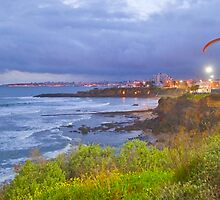 paraglider flight in S.Pedro do Estoril by terezadelpilar~ art & architecture