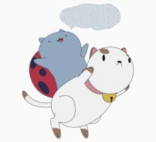 Catbug and PuppyCat Baby Tee
