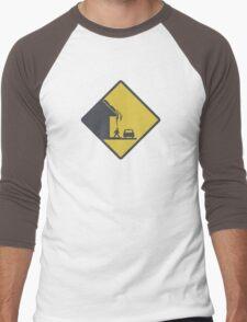 Falling Snow Men's Baseball ¾ T-Shirt