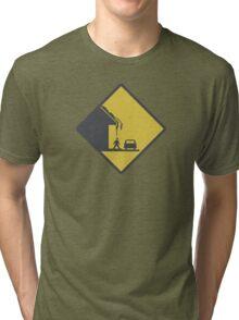 Falling Snow Tri-blend T-Shirt