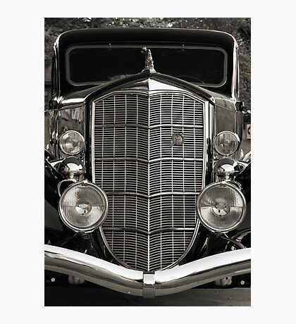 grille in B&W Photographic Print