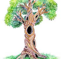 Spirit Tree by brookeduckart