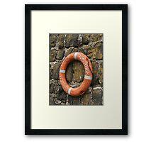 Buoyancy Aid Framed Print