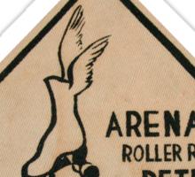 Detroit Arena Roller Rink Sticker
