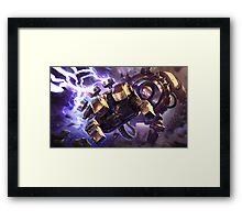 Blitzcrank Framed Print