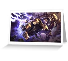 Blitzcrank Greeting Card
