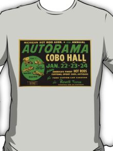 Autorama Poster Cobo Hall 1966 T-Shirt
