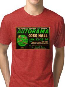 Autorama Poster Cobo Hall 1966 Tri-blend T-Shirt