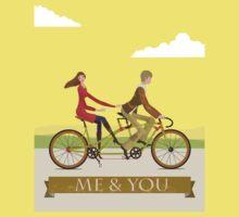 Me & You Bike Kids Tee