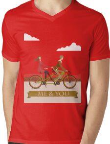 Me & You Bike Mens V-Neck T-Shirt
