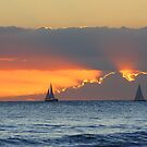 Sunset in Paradise by kurtolo