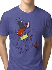 Totodile - Pokemon Tri-blend T-Shirt