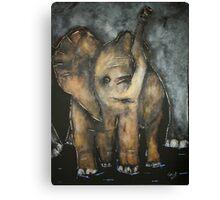 Baby Elephant 3 Canvas Print