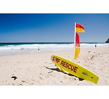 Lifeguards on duty!  Photographic Print