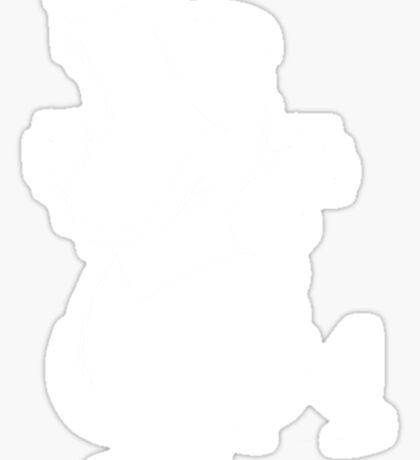 Totodile - White Sticker