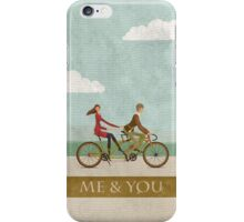 Me & You Bike iPhone Case/Skin