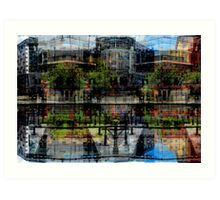 canal side (3)a Art Print