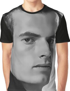 Andy Murray Digital Art Portrait Graphic T-Shirt