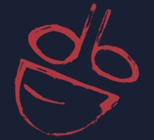 Painted dumb logo Red by DumbDesigns