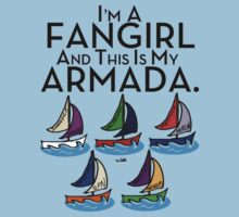 I'm A Fangirl And This Is My Armada!!!-Black Kids Clothes