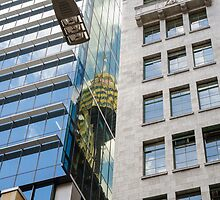 Reflection of Sydney Tower by aweatherall
