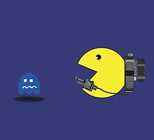 Pacman Ghostbuster by nick94