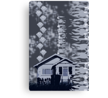 Is it a Drawing?-Kelp, House, Rays Canvas Print
