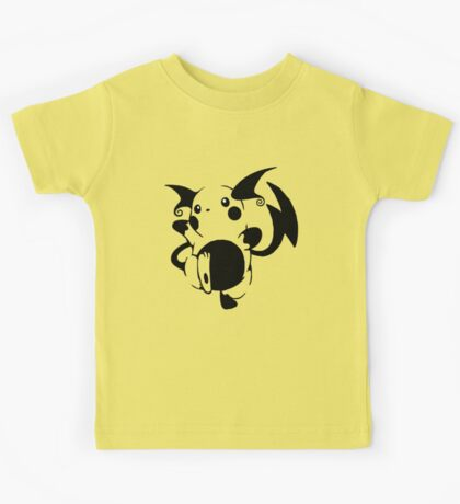 Raichu Black Kids Clothes