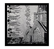 Is it a Drawing?-Kelp, Church, Rays Photographic Print