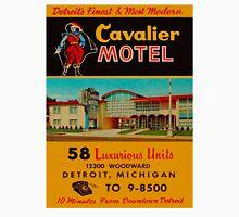 Vintage Cavalier Motel Detroit Ad T-Shirt
