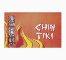 Vintage Detroit Chin Tiki Menu Cover by The Detroit Room