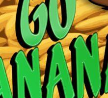 Go Bananas Sticker