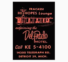 Vintage Detroit Del Prado Motel Ad T-Shirt